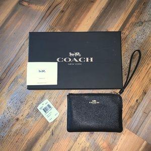 Black Coach Wristlet